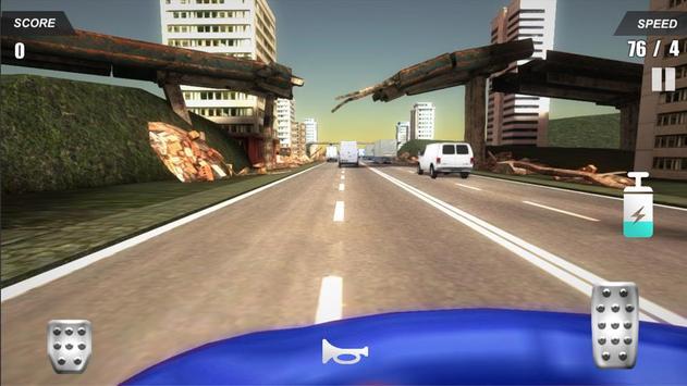 Racing Car In City screenshot 2