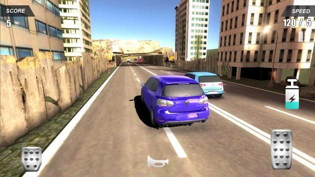 Racing Car In City screenshot 4