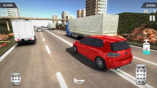 Racing Car In City screenshot 9