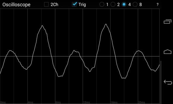 Oscilloscope screenshot 4