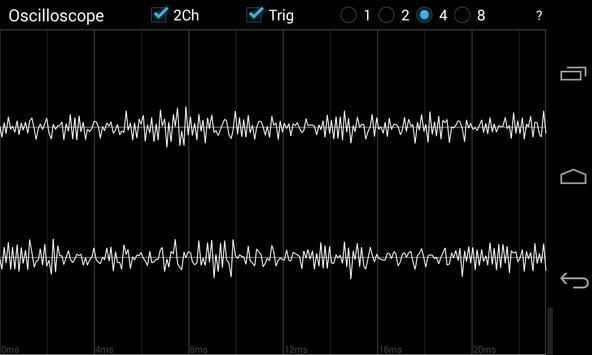 Oscilloscope screenshot 5