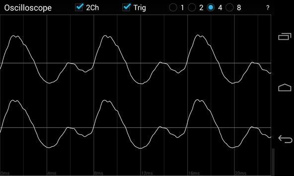 Oscilloscope screenshot 6