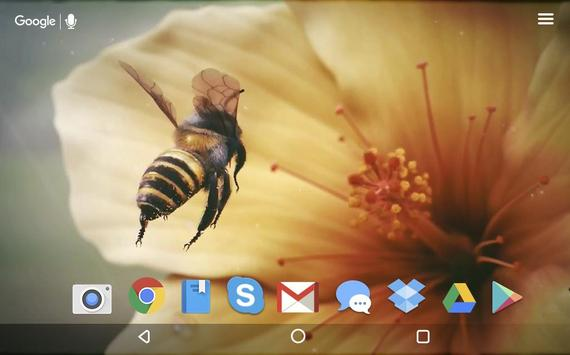 Bee and Flower Live Wallpaper screenshot 4
