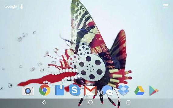 Butterfly Stuff Live Wallpaper screenshot 4