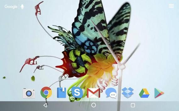 Butterfly Stuff Live Wallpaper screenshot 5