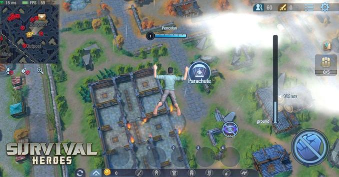 Survival Heroes Brasil captura de pantalla 5