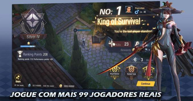 Survival Heroes Brasil Poster