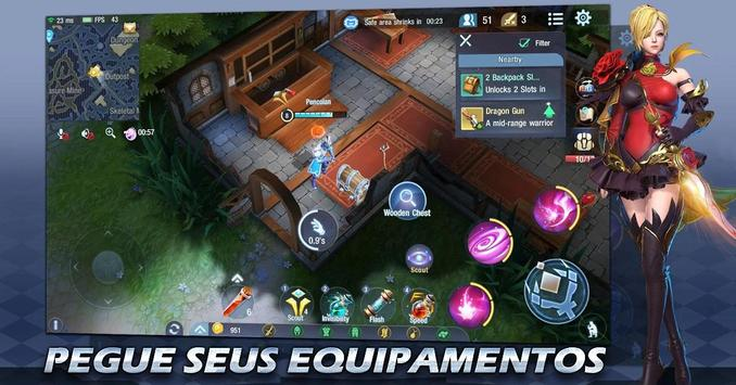 Survival Heroes Brasil captura de pantalla 2