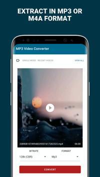 MP3 convertir el vídeo captura de pantalla 1