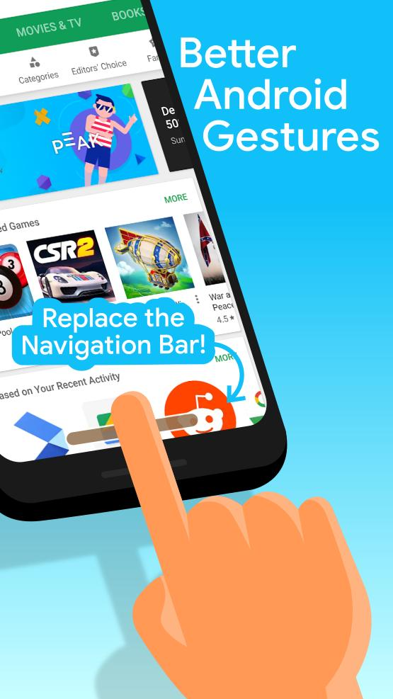 Navigation Gestures for Android - APK Download