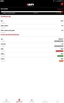XEFI note de frais screenshot 1