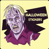 Halloween Emoji Sticker - Zombie Sticker icon