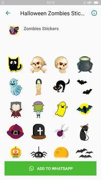 Halloween Emoji Sticker - Zombie Sticker screenshot 5