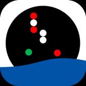 RIPAM - Feux et marques d'un navire icône