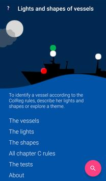 COLREGs - Lights and shapes of vessels 截图 8