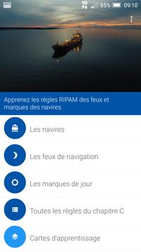 RIPAM - Feux et marques d'un navire Affiche