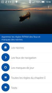 RIPAM - Feux et marques d'un navire capture d'écran 15