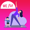WeFit – Female fitness & Home Workout for Women icon