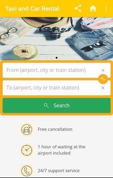 Taxi & Car Rental Booking Apps screenshot 3