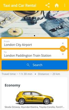 Taxi & Car Rental Booking Apps screenshot 4
