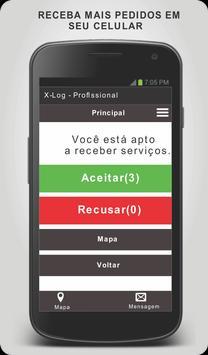 X-log - Profissional screenshot 1