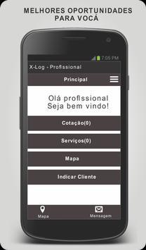 X-log - Profissional screenshot 3