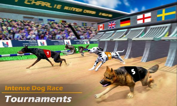 Racing Dog Simulator: Crazy Dog Racing Games poster