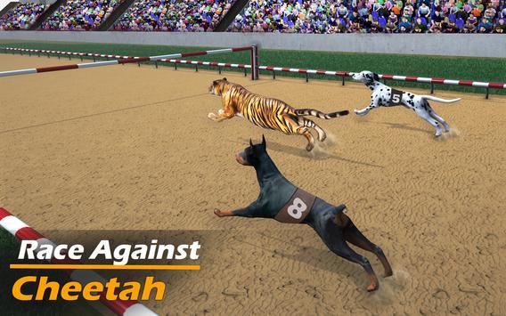 Racing Dog Simulator: Crazy Dog Racing Games screenshot 5