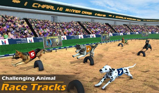 Racing Dog Simulator: Crazy Dog Racing Games screenshot 7