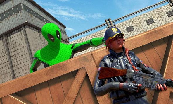 Frog Ninja Hero: Prison Escape Games poster