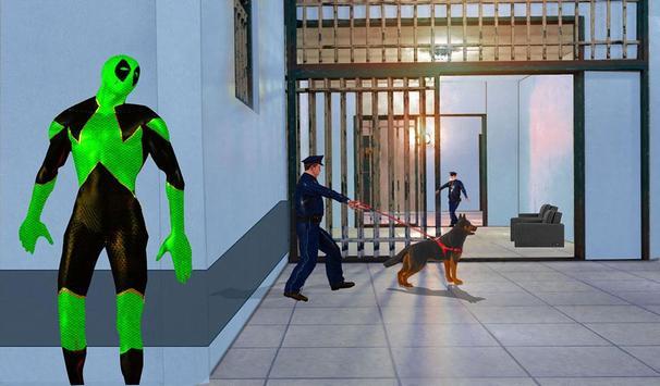 Frog Ninja Hero: Prison Escape Games screenshot 11