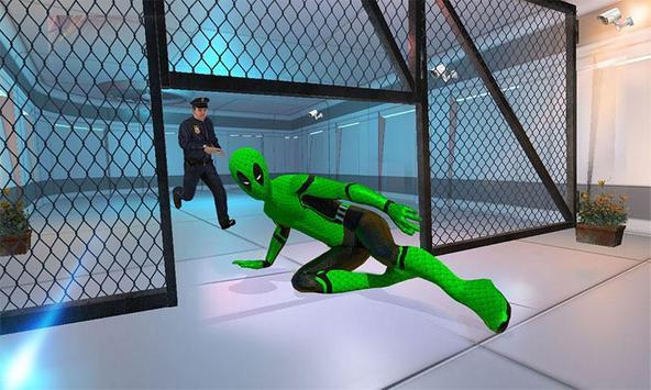 Frog Ninja Hero: Prison Escape Games screenshot 2