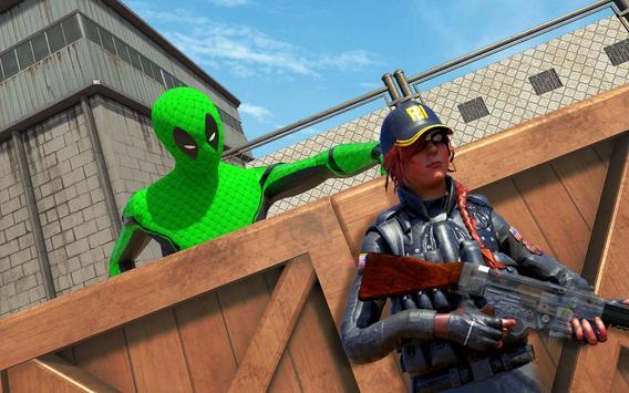 Frog Ninja Hero: Prison Escape Games screenshot 4