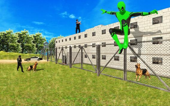Frog Ninja Hero: Prison Escape Games screenshot 5
