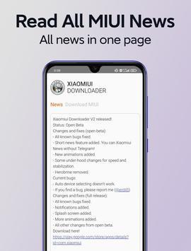 Xiaomiui: Download MIUI, Chatrooms, News imagem de tela 2