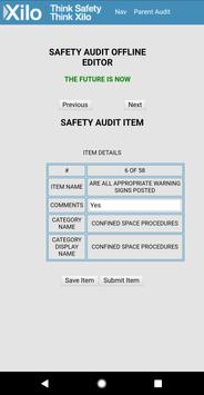 XILO Safety-Audit Offline Editor poster
