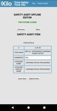 XILO Safety-Audit Offline Editor screenshot 1