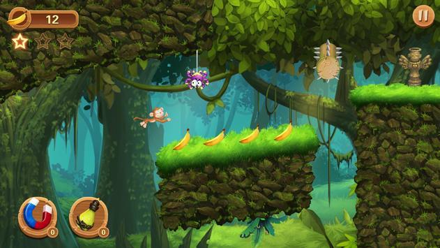 Super Monkey Go - Jungle Monkey 2019 screenshot 7