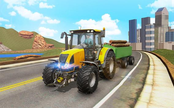 Offroad Tractor Transport screenshot 2