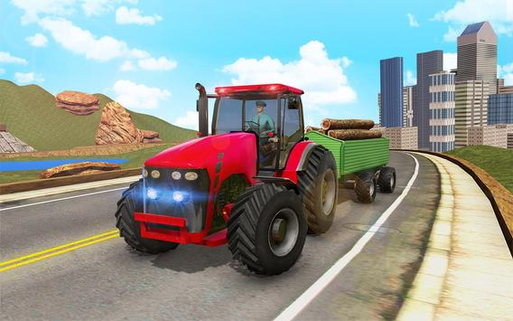 Offroad Tractor Transport screenshot 8