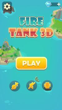 Fire Tank 3D poster