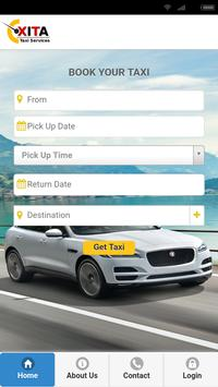 XitaTaxi - Driver App - Rentals & Outstation Cabs poster