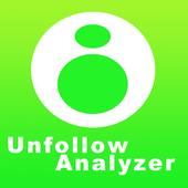 Unfollow Analyzer - Unfollowers & Followers icon