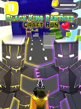 Black Man Panther Cube Run screenshot 3