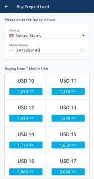 XLOAD - Free Universal Prepaid Top-Up Everyday captura de pantalla 2