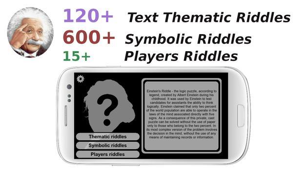 Einstein's Riddles IQ Logic Puzzles 海报