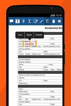 Xodo PDF Reader & Editor स्क्रीनशॉट 3