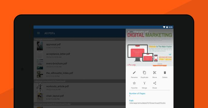 Leitor e Editor de PDF Xodo imagem de tela 14