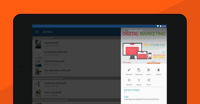 7 Schermata Xodo PDF Lettore ed Editor