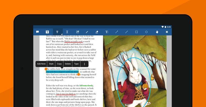 5 Schermata Xodo PDF Lettore ed Editor